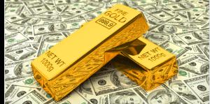 Valor do Ouro sobe por causa do aumento no preço do Dólar