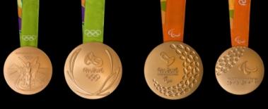 As Medalhas Olímpicas e Paralímpicas Rio 2016