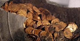 Tesouro do Império Romano é encontrado em Cidade Italiana