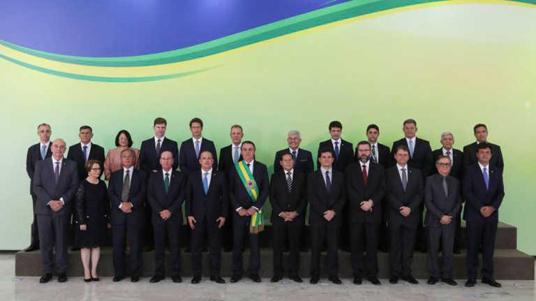 MINISTROS DO GOVERNO DE JAIR BOLSONARO