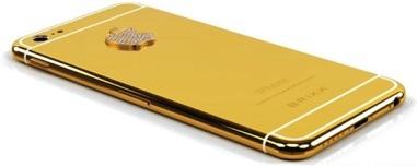 Iphone 6 e Iphone 6 Plus em Ouro