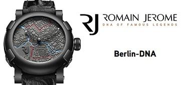 Relojoaria Suíça Romain Jerome lança Berlin-DNA