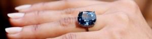 """Diamante Azul, """"Blue Moon"""", é leiloado"""