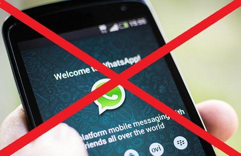 Whatsapp Bloqueado Suspenso