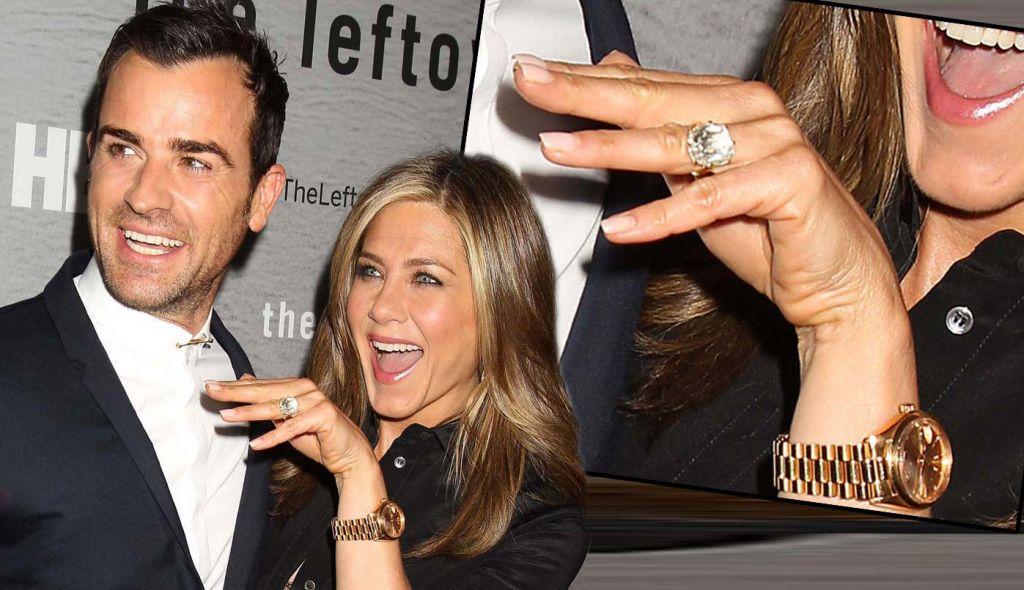 Jennifer Aniston Anel de Noivado