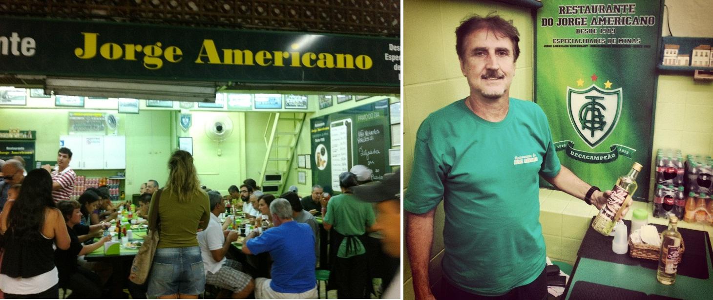 Restaurante Jorge Americano Mercado Central