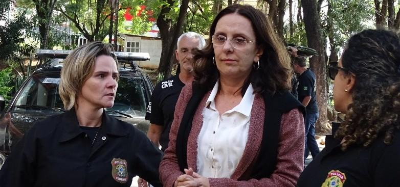 Andrea Neves e presa em Belo Horizonte por suspeita de corrupcao