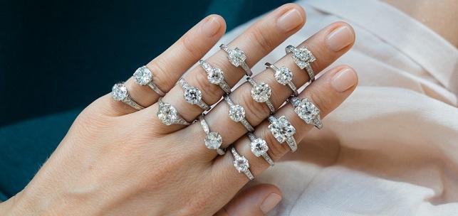 Aneis de Diamantes