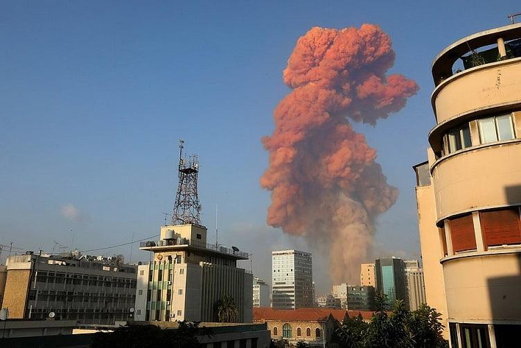 Explosão em Beirute – Líbano